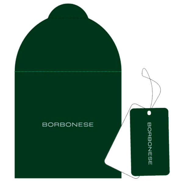 Borbonese packaging