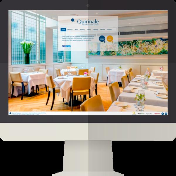Quirinale Restaurant sito web
