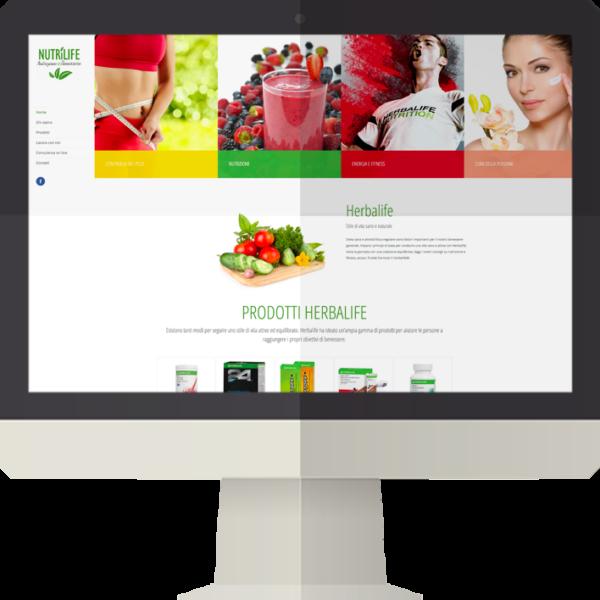 Nutrilife sito web