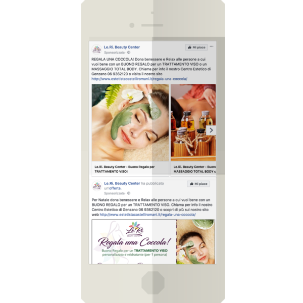 Campagna Facebook Leri – Beauty Center