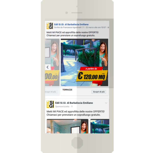 Campagna Facebook Edil Sigi