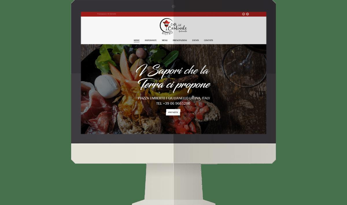 Sito web caffe del cardinale